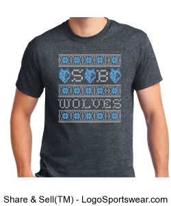 Wolves Ugly SS Tee Design Zoom